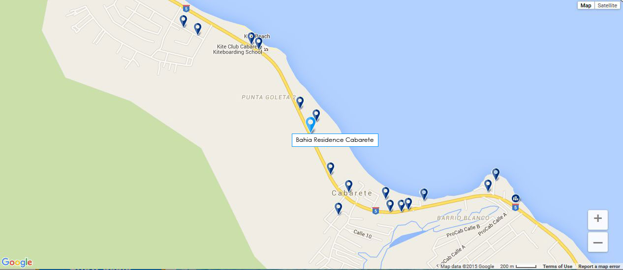 Directions to Bahia Residence