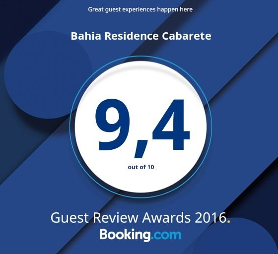 Bahia Residence Cabarete _Booking.com guest award 2016